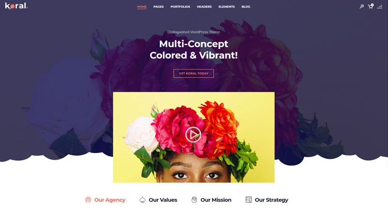 Koral WordPress Theme