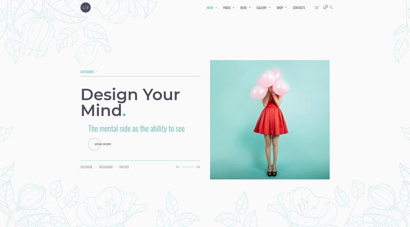 Lavr WordPress Theme