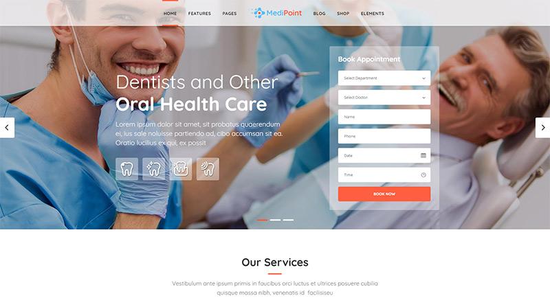 MediPoint WordPress theme