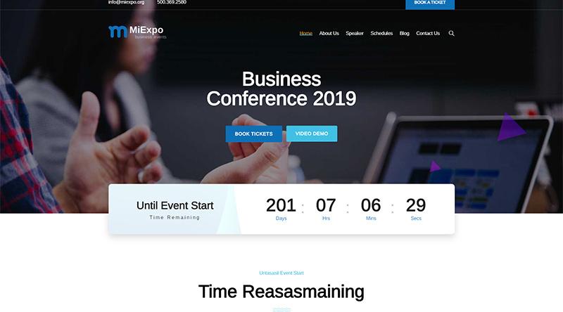Miexpo WordPress Theme