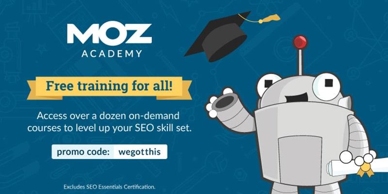 Moz Academy Free SEO Courses