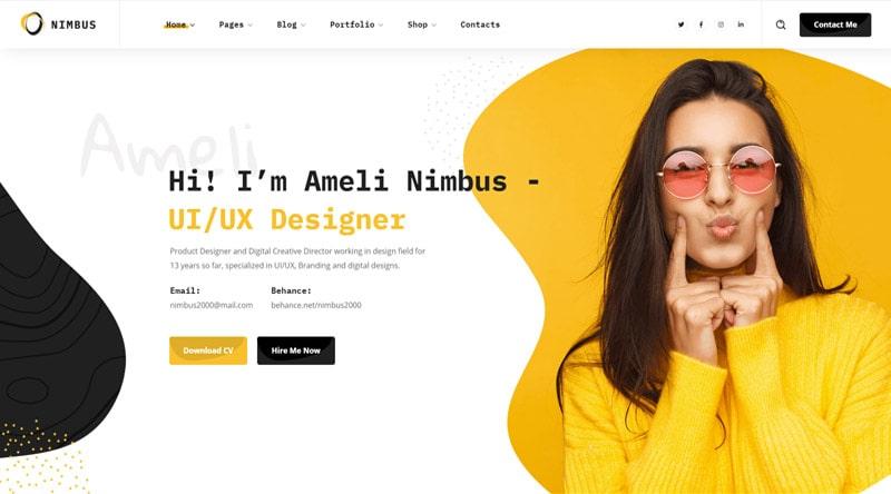 Nimbus WordPress Theme