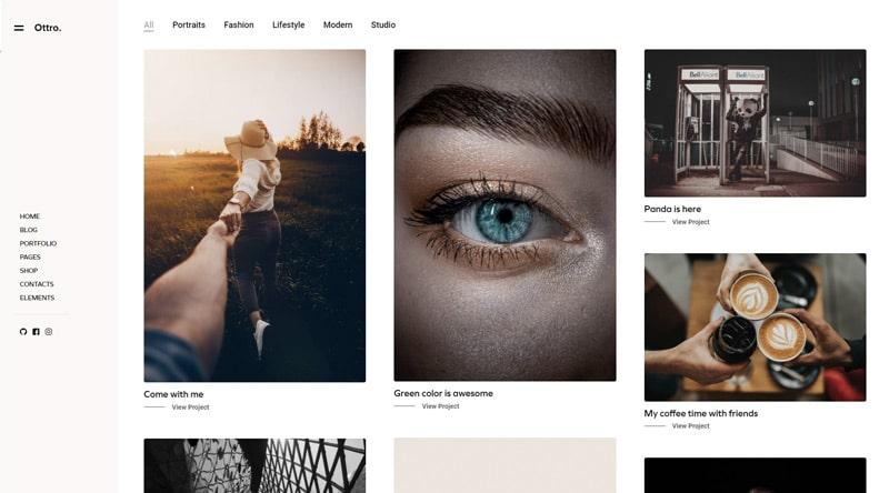 Ottro WordPress Theme