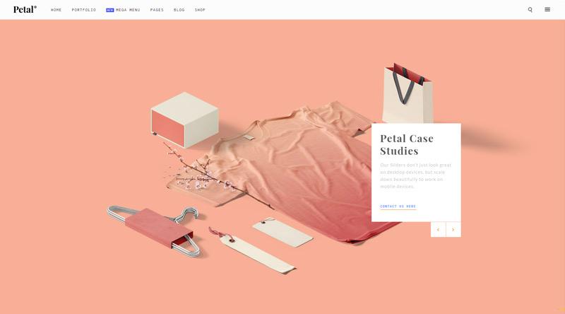 Petal WordPress Theme
