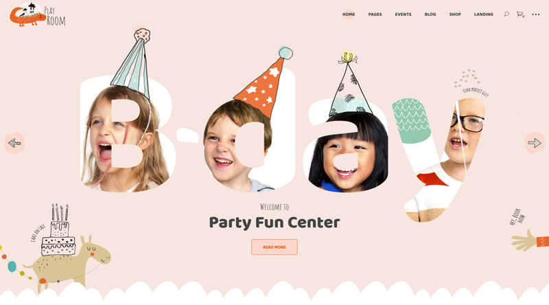 Playroom WordPress Theme