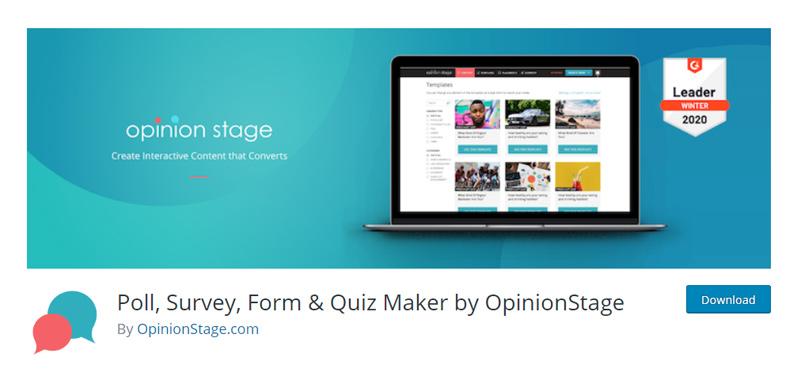 Poll Survey Form WordPress plugin