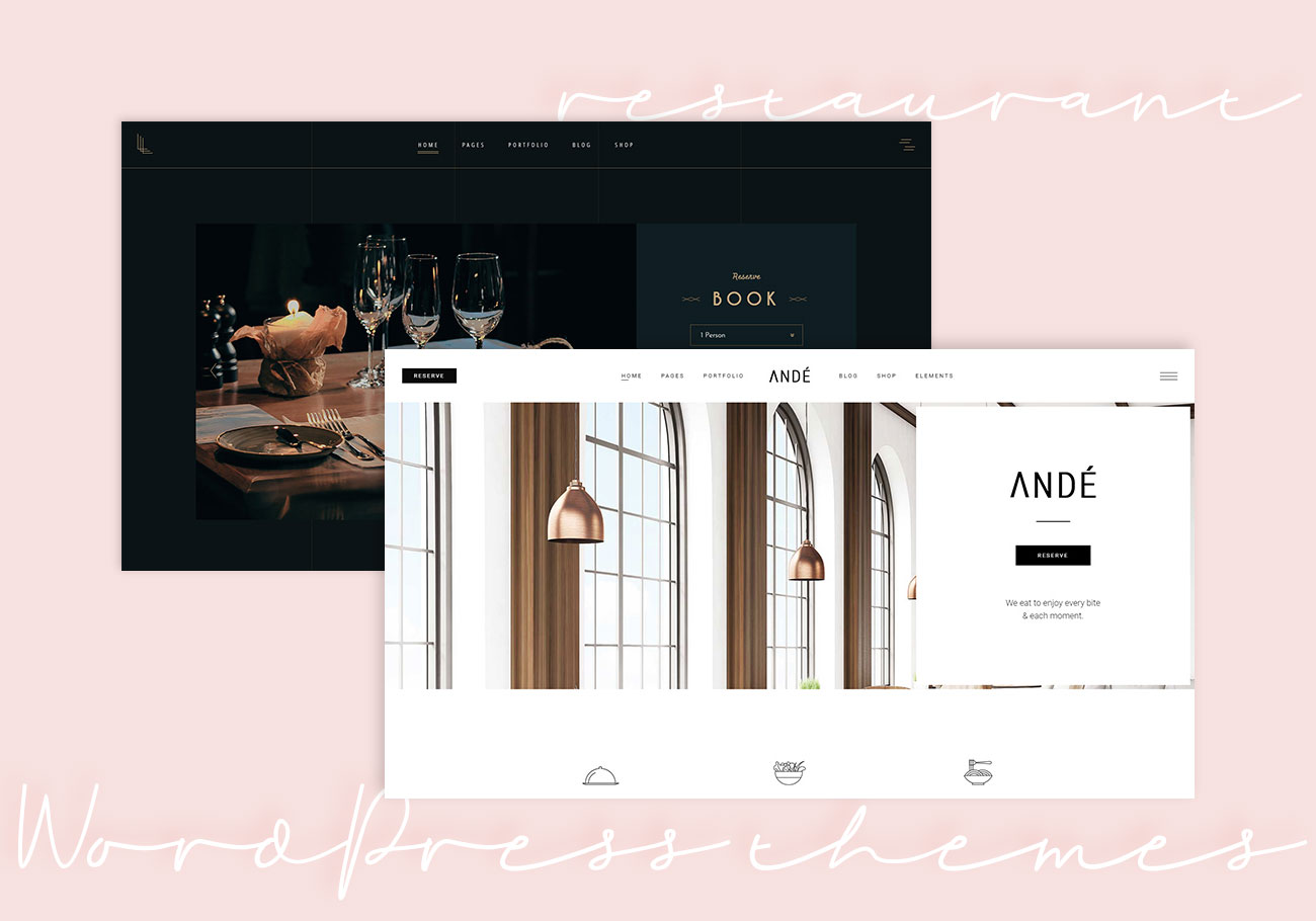 Premium Restaurant WordPress Themes
