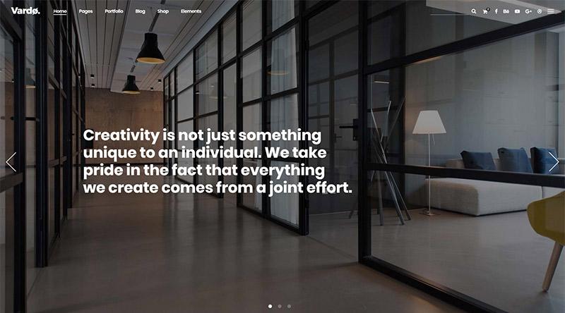 Vardo WordPress Theme