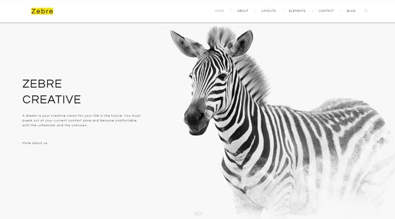 Zebre WordPress Theme