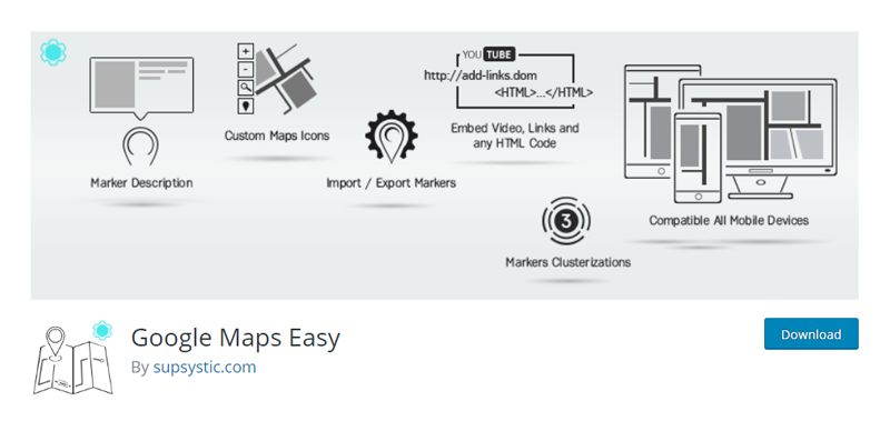 Google Maps Easy Plugin