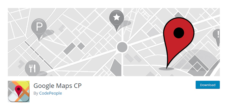 Google Maps CP Plugin