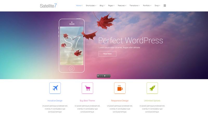 Satellite7 Corporate WordPress Theme