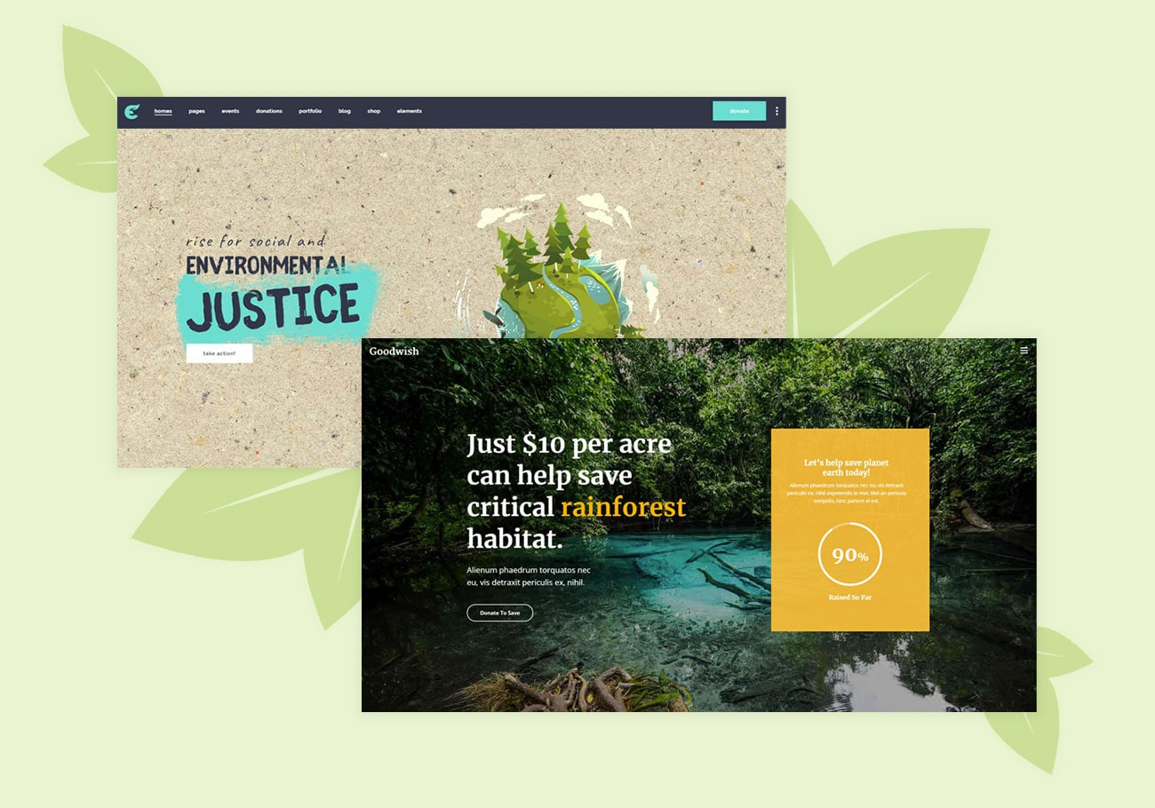 Best and Greenest Ecology WordPress Themes