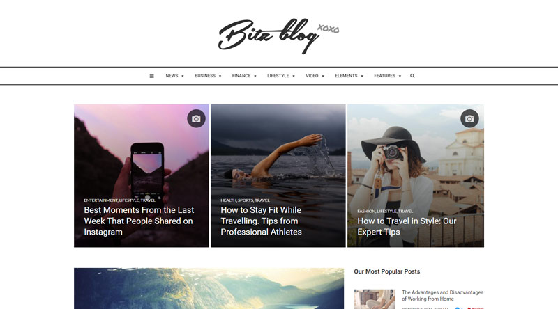 Bitz Publishing WordPress Themes