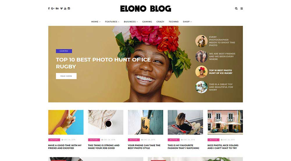 Elono WordPress Theme