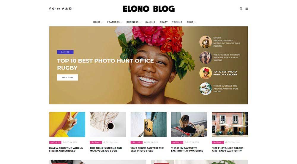 Elono WordPress Theme