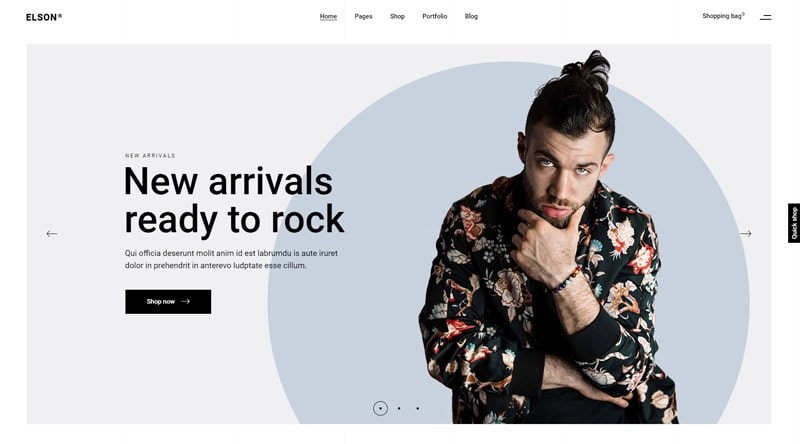 Elson Modern WordPress Theme