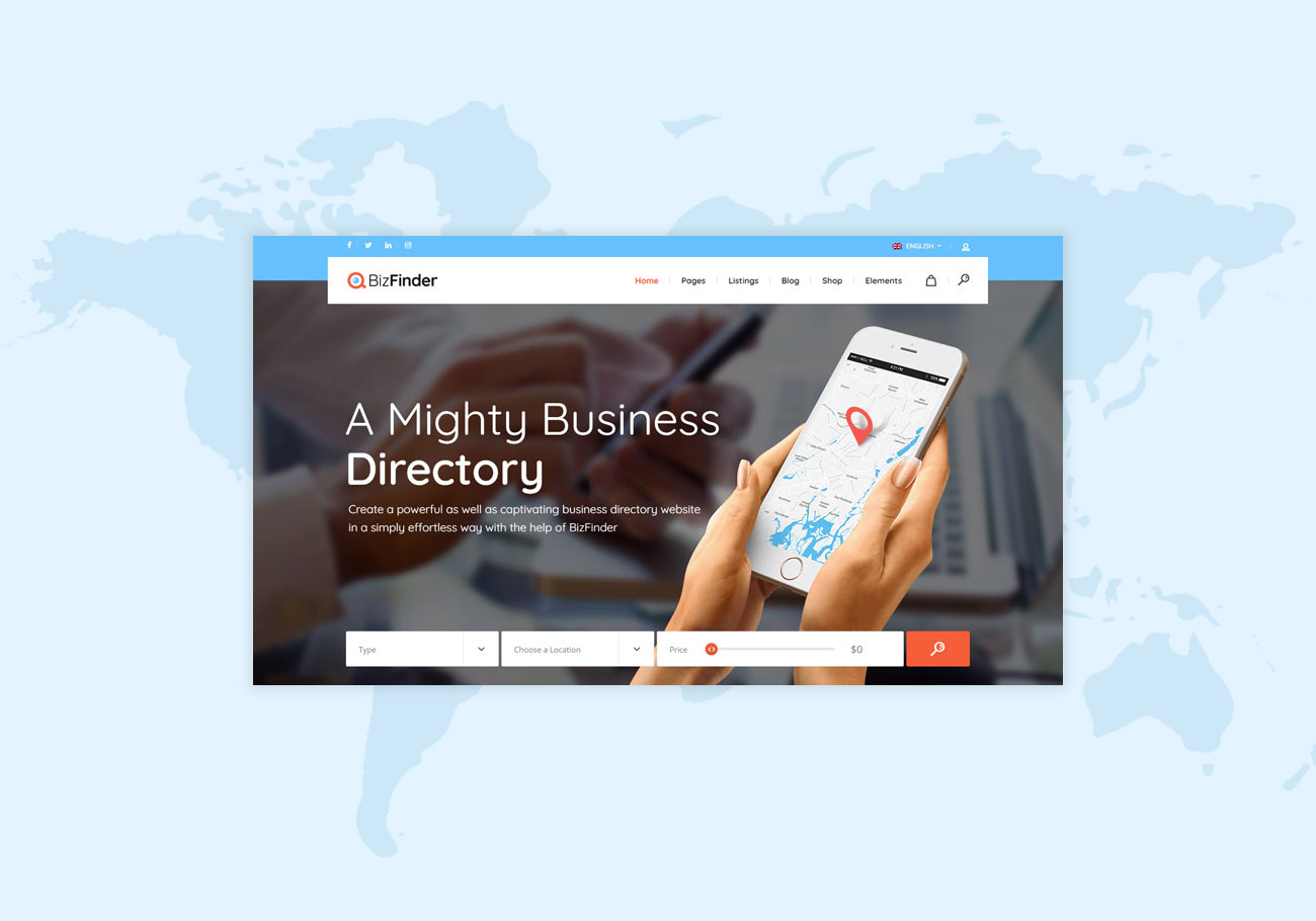 Excellent Directory WordPress Themes