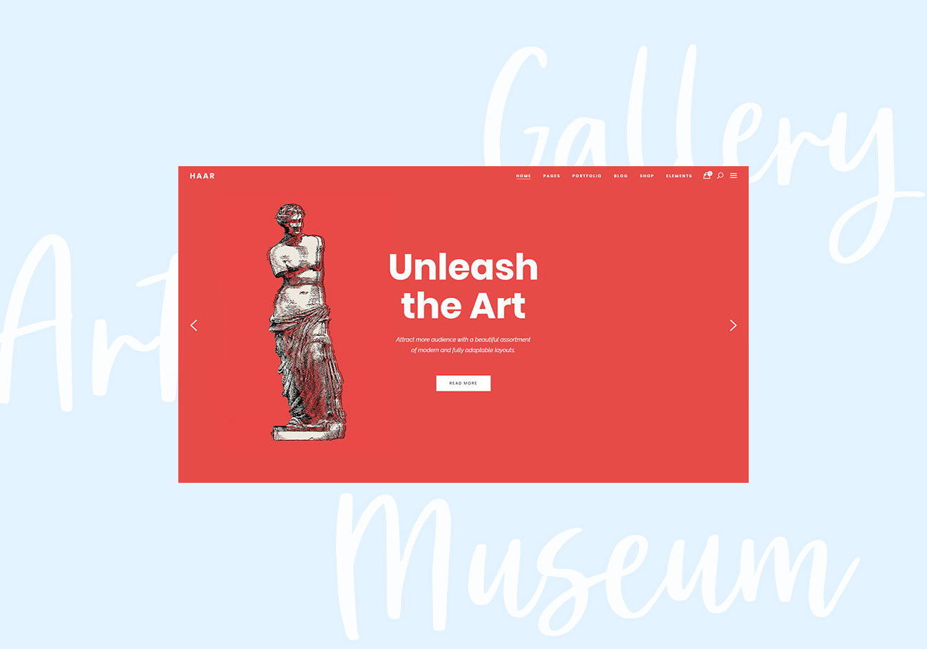 Expertly Curated Museum WordPress Themes