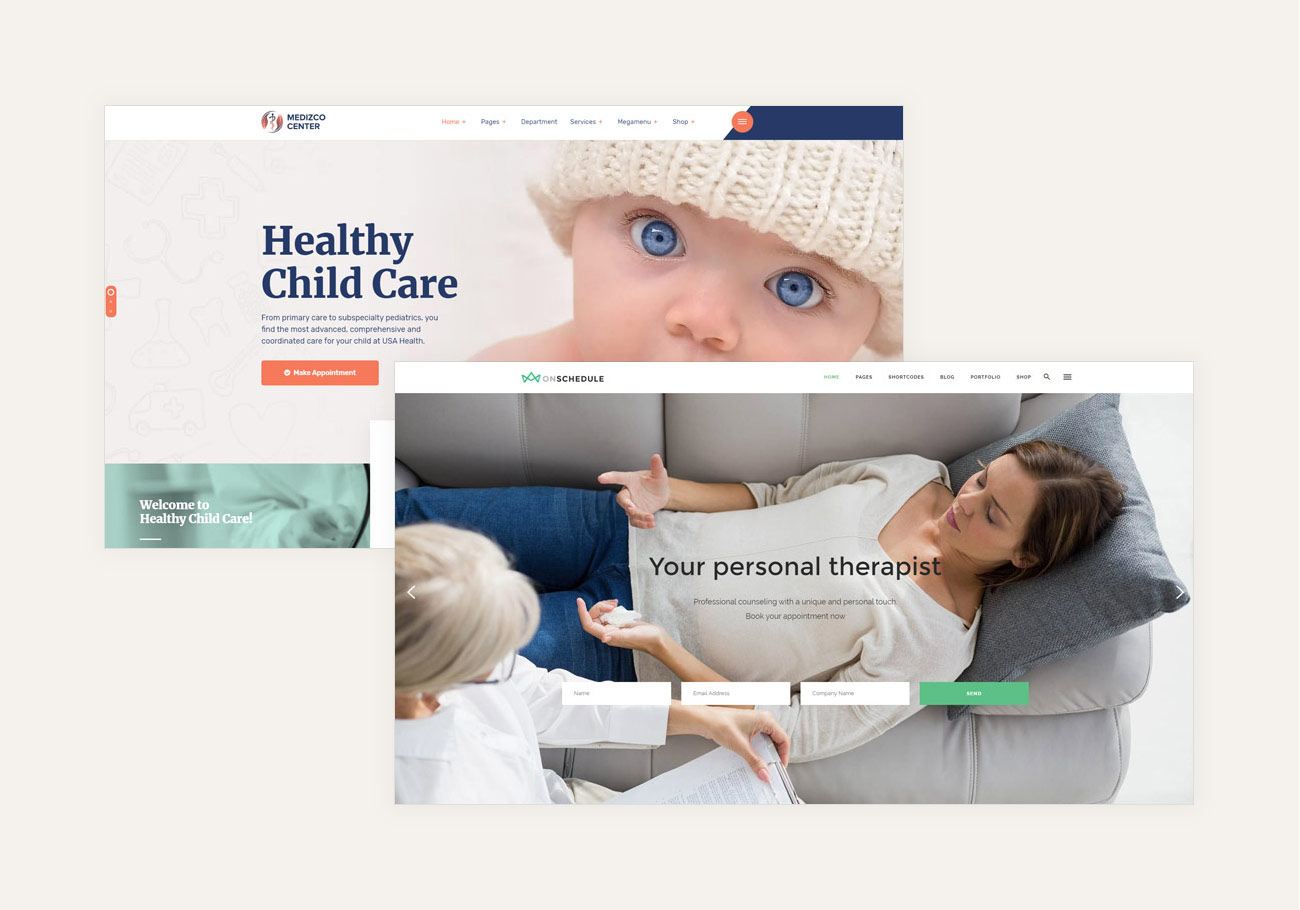 Health WordPress Themes for Medical Industry