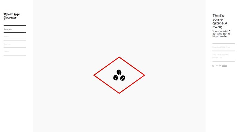 Hipster Logo Generator