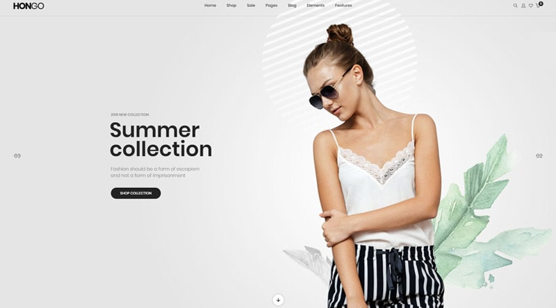 Hongo Modern WordPress Theme