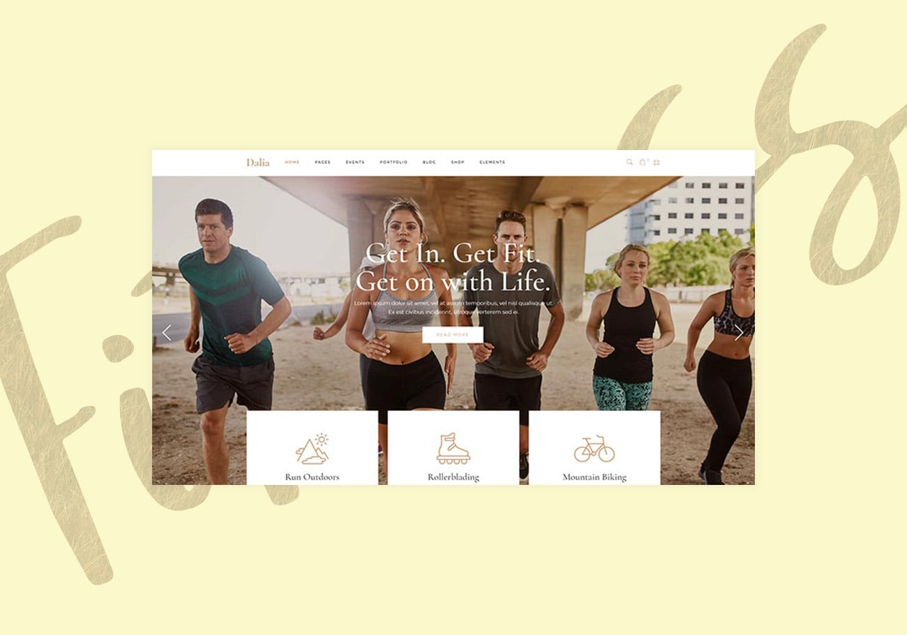 Most Versatile Fitness WordPress Themes to Keep You and Your Business Fit