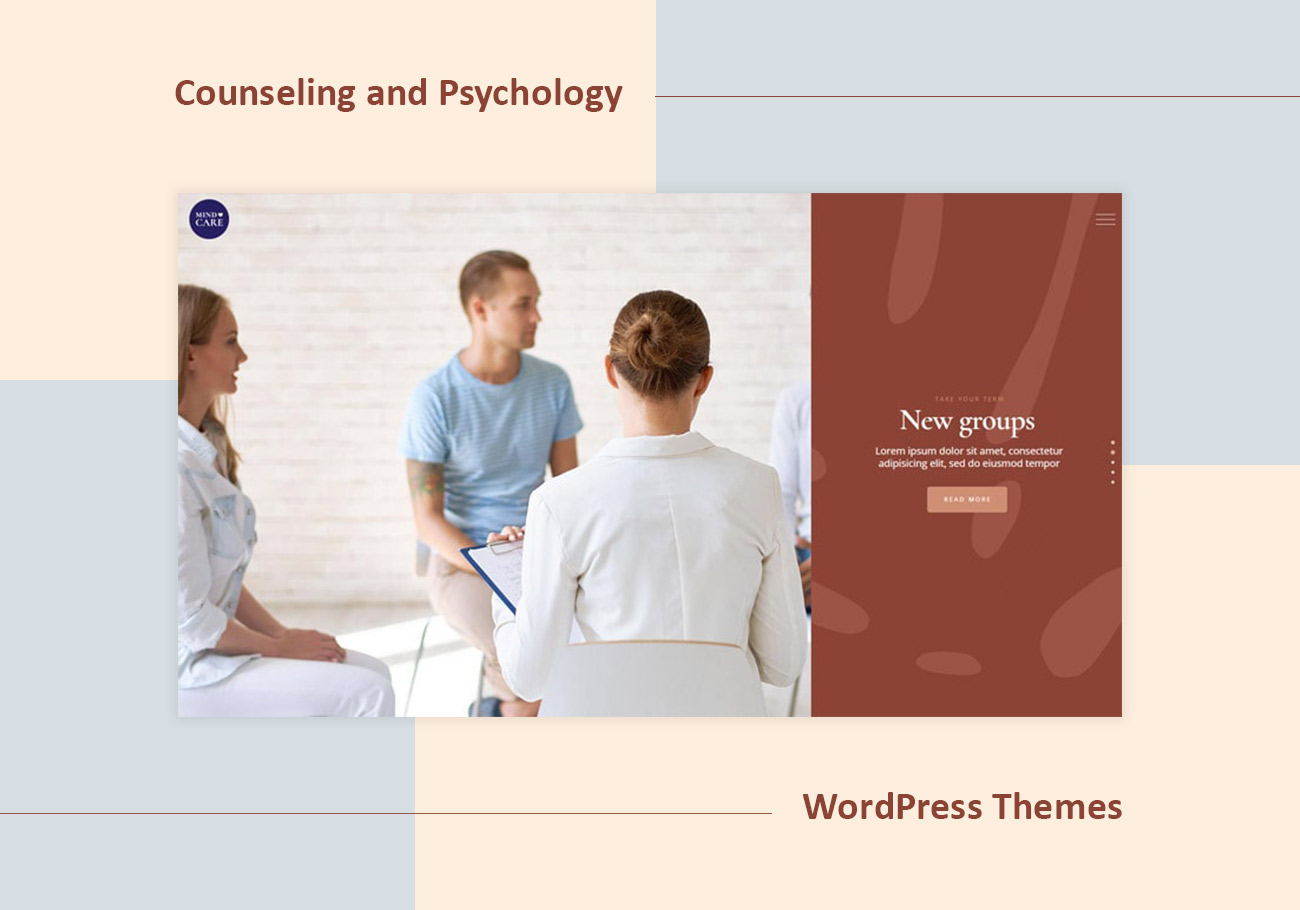 Professional Counseling and Psychology WordPress Themes