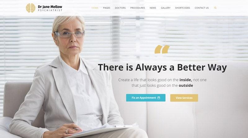 Psychology WordPress Theme