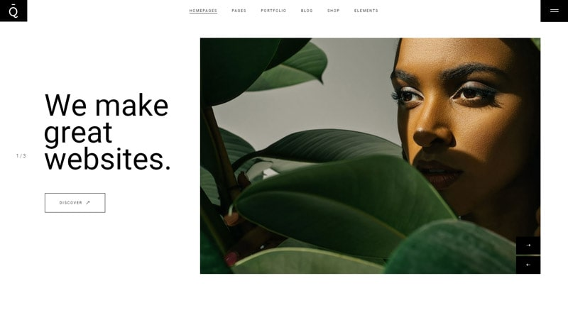 Quart Modern WordPress Theme