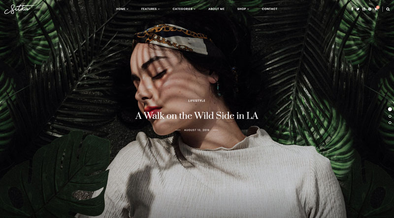 Sitka Modern WordPress Theme