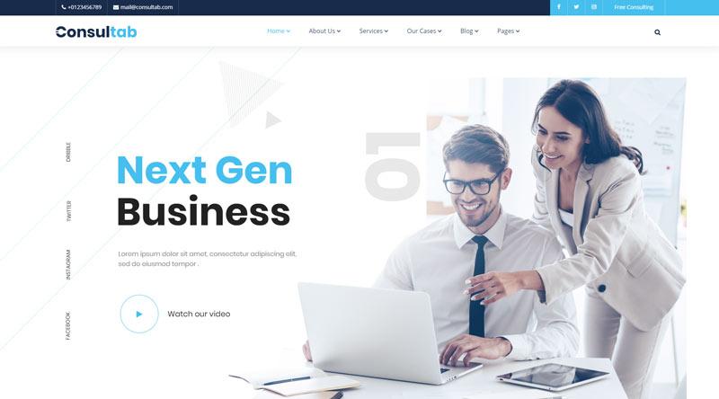 Consultab WordPress Theme