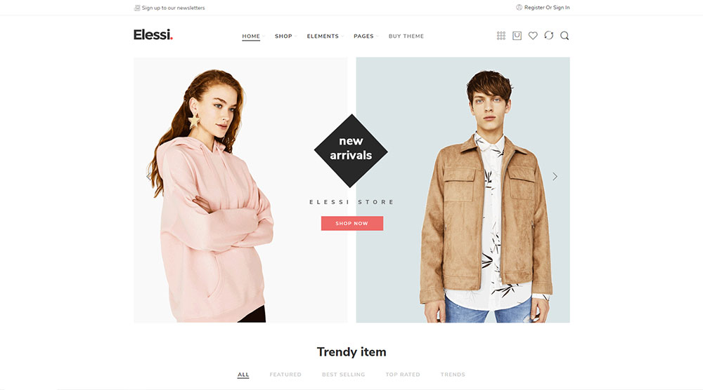 Elessi WordPress Theme