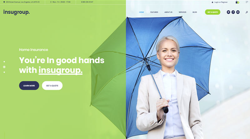 Insugroup WordPress Theme