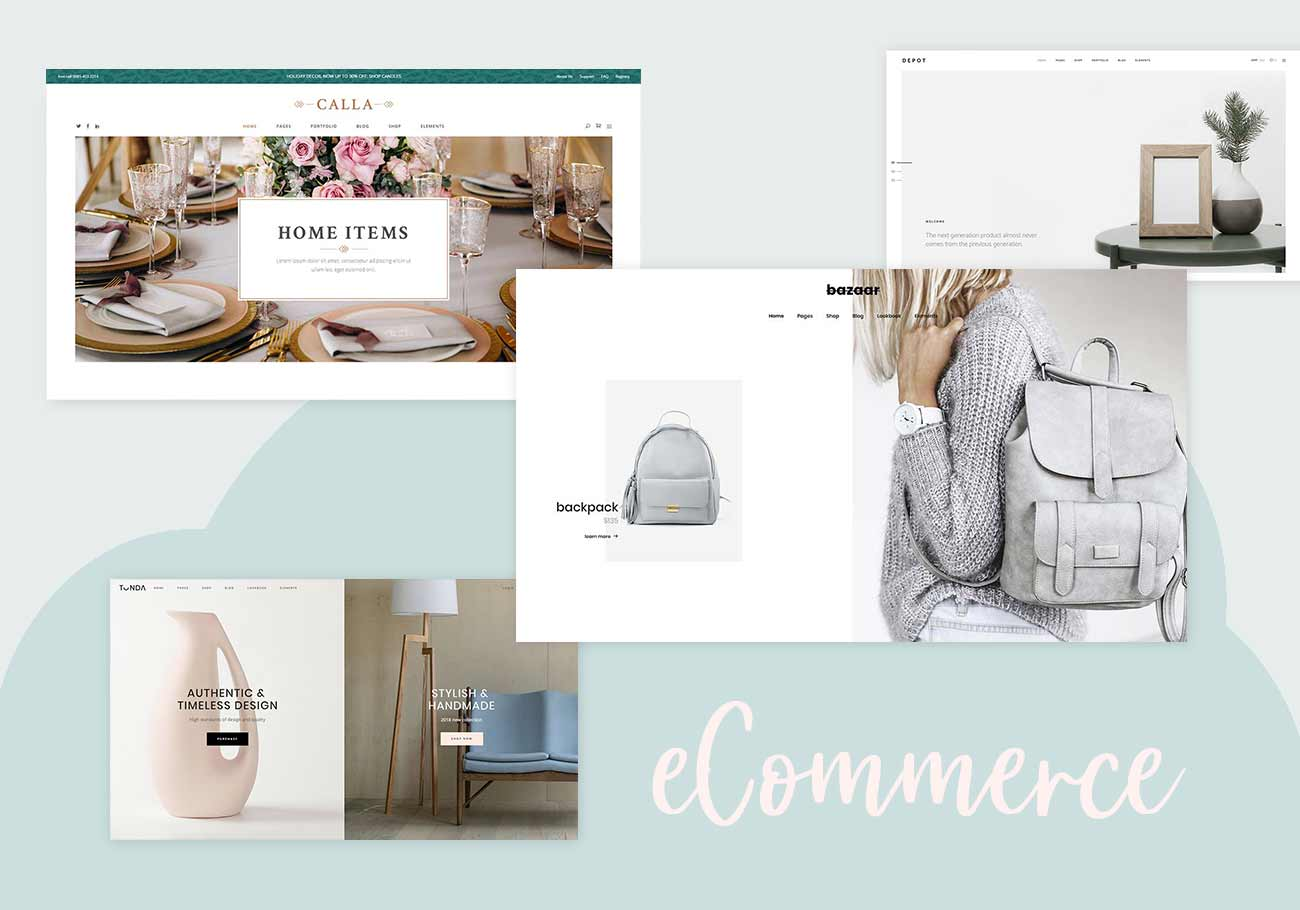 20 Trendy eCommerce WordPress Themes for Any Business