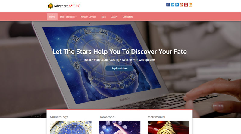 Advanced Astro Astrology WordPress Themes