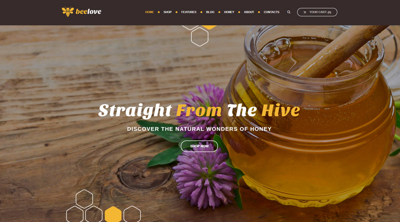 Beelove Honey WordPress Themes