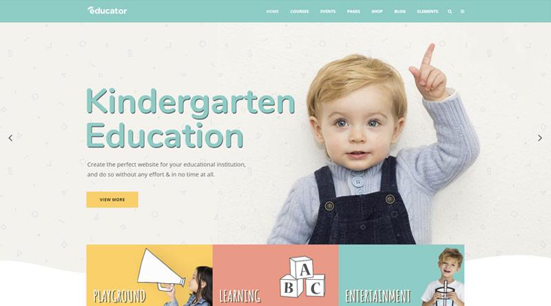Educator Kindergarten WordPress Themes