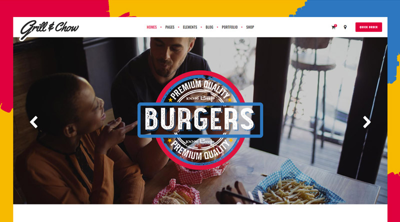 Grill and Chow WP Theme