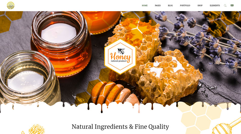 Hereford Honey WordPress Themes