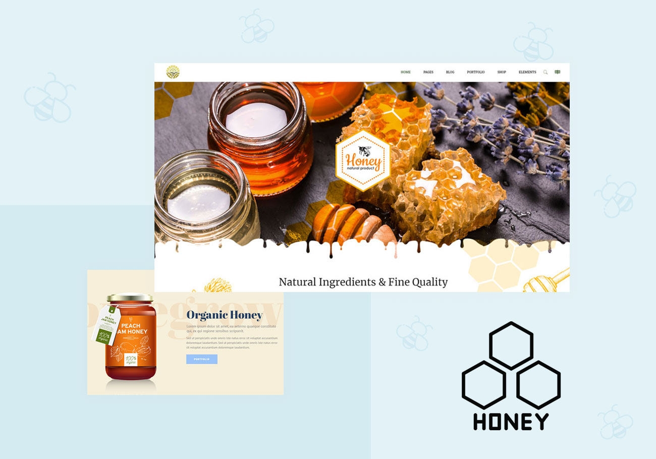 Best Beekeeping and Honey WordPress Themes for Sweeter Websites
