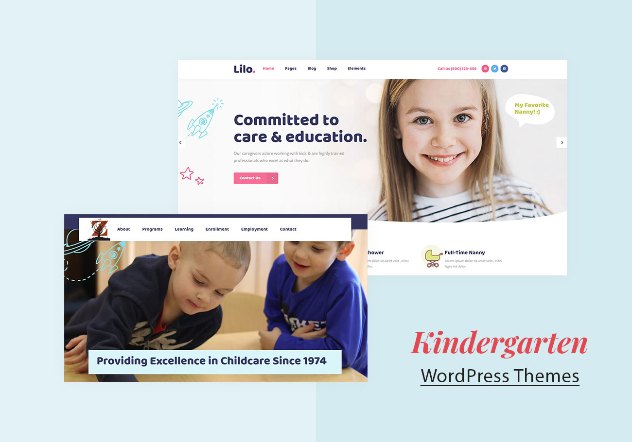 Kindergarten WordPress Themes to Stand Out