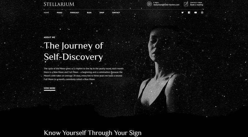 Stellarium Astrology WordPress Themes
