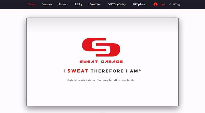 Sweat garage