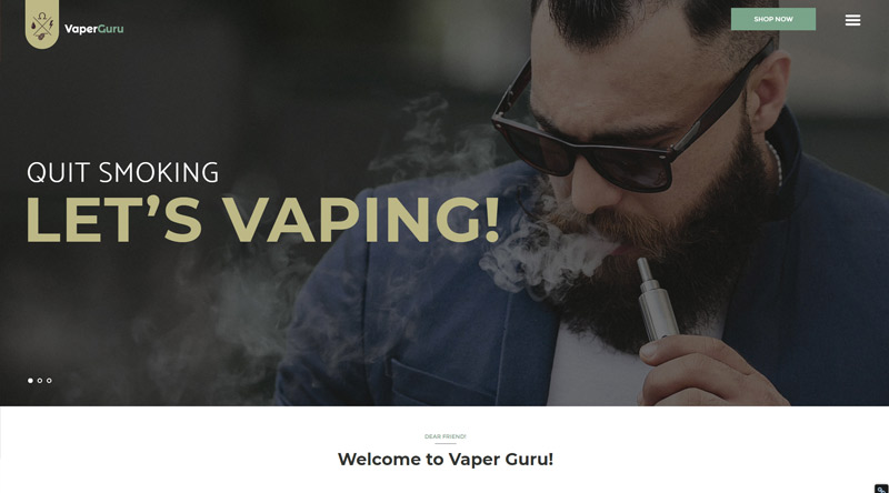 VaperGuru WP Theme