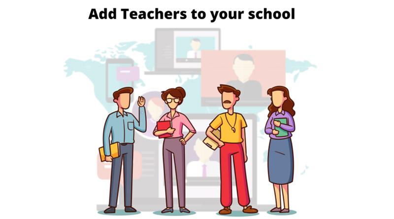 Docenten / instructeurs toevoegen om een schoolachtige omgeving te creëren