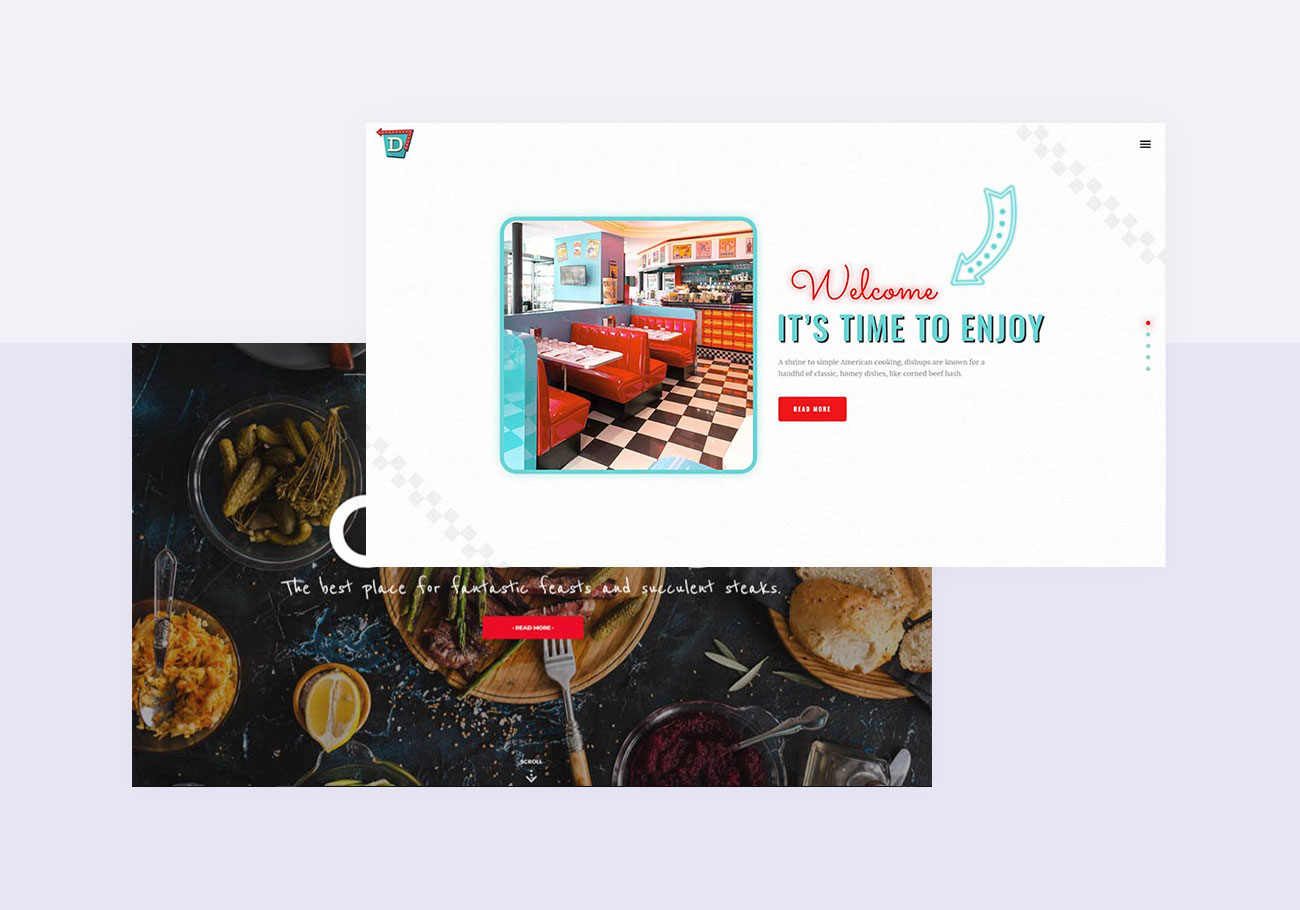Carefully Selected WordPress Themes for Diners