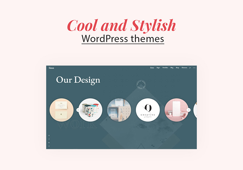 Best Cool and Stylish WordPress Themes