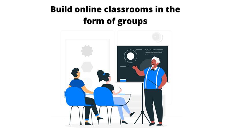 Eenvoudige groepsregistratie van studenten voor verschillende cursussen