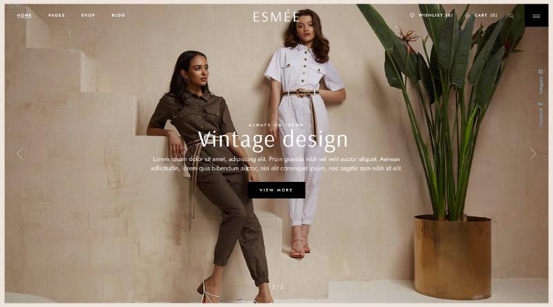 Esmee WordPress Theme